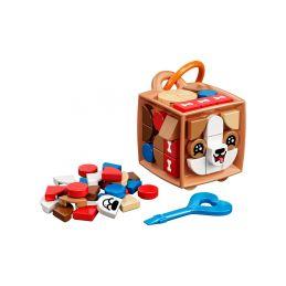 LEGO DOTs - Ozdoba na tašku - pejsek - 1