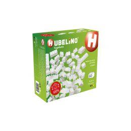 HUBELINO Kuličková dráha - kostky bílé 60 dílků - 1