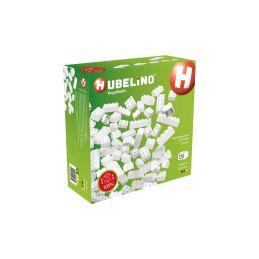 HUBELINO Kuličková dráha - kostky bílé 120 dílků - 1