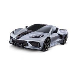 Traxxas Chevrolet Corvette Stingray 1:10 RTR stříbrná - 1