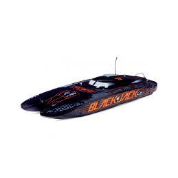 """Proboat Blackjack 42"""" 8S RTR černý - 1"""
