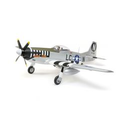 E-flite P-51D Mustang 1.2m SAFE Select BNF Basic - 1
