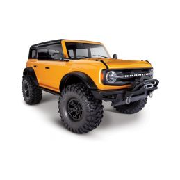 Traxxas TRX-4 Ford Bronco 2021 TQi 1:10 RTR oranžový - 1