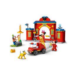 LEGO DUPLO - Hasičská stanice a auto Mickeyho a přátel - 1