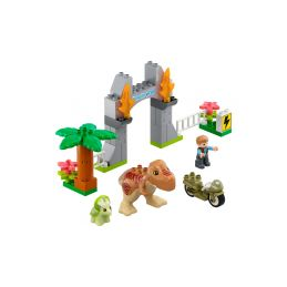 LEGO DUPLO - T-Rex a Triceratops na útěku - 1