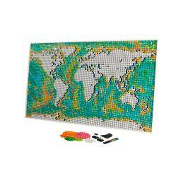 LEGO ART - Mapa světa - 1
