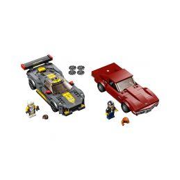 LEGO Speed Champions - Chevrolet Corvette C8.R a 1968 Chevrolet Corvette - 1