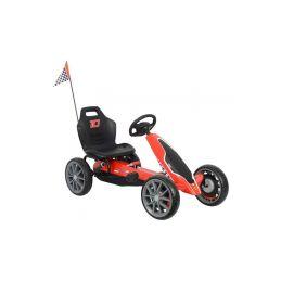 Volare - Dětská šlapací motokára Ferrari GoKart - 1