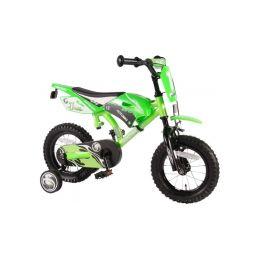 """Volare - Dětské kolo 12"""" Motobike zelené - 1"""