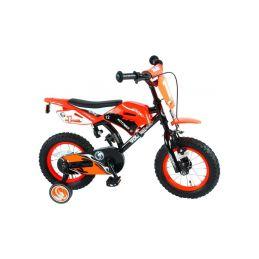"""Volare - Dětské kolo 12"""" Motobike oranžové - 1"""