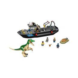 LEGO Jurský Park - Útěk baryonyxe z lodě - 1
