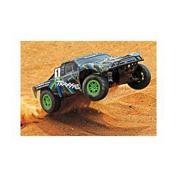 Traxxas Slash 1:10 4WD RTR zelený - 2