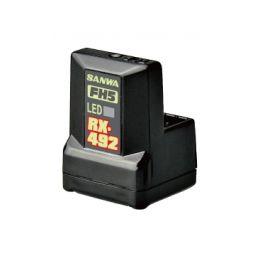 RX-492 FHSS-5/SUR,SSL přijímač (telemetrický) - 1