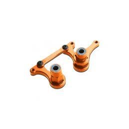 Traxxas hliníkové páky řízení oranžové - 1