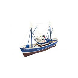 Elcano rybářský člun 1:25 modrý ARTR - 1