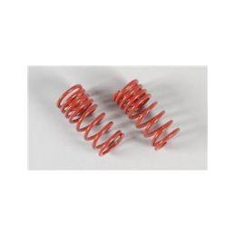 Pružiny tlumičů F1, progresivní .2,4x48 červené, 2ks. - 1
