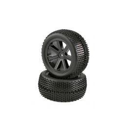 VTEC 1/10 nalepené zadní gumy (2 ks) S10 Blast BX 2 - 1