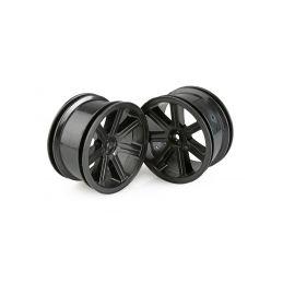 Paprskové disky zadní, černé (2 ks) - S10 BX - 1