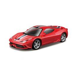 Bburago Kit Ferrari 458 Speciale 1:43 červená - 1