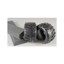 Monster Truck gumy, medium směs/ včetně vložek, 2ks. - 1