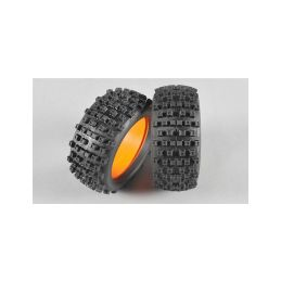 GRP 1:6 Buldog gumy s vložkami, směs X/Extra soft, 2ks - 1