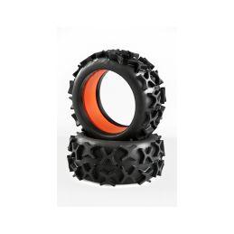 GRP 1:6 Grip gumy s vložkami, směs X/super soft, 2ks - 1