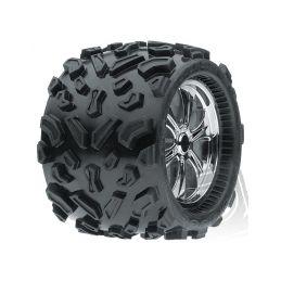 Pneu Monster Truck (40 Series) All Terrain Tires (2ks) T-Maxx,Savage atd - 1