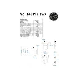 Hi-Volt servo Hawk, 8,5mm, 6,6 kg - 9