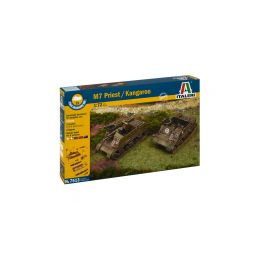 Italeri Easy Kit - M7 PRIEST / KANGAROO (1:72) - 1