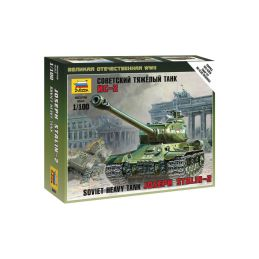 Zvezda Snap Kit - IS-2 Stalin (1:100) - 1