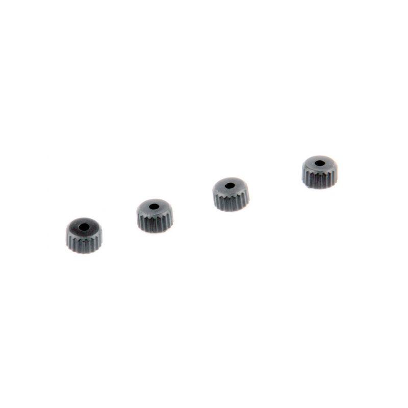 Spodní čepičky olejových tlumičů, 4ks. - S10 Twister - 1/10 2WD Buggy - 1