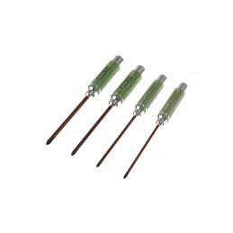 Šroubováky - křížové - ALU verze SADA: 3.5 4.0 5.0 & 5.8 x 120mm - (4) - 1