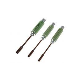 Nástrčkové klíče - metrické - ALU verze SADA: 4.5 5.5 7.0 x 100mm - (3) - 1