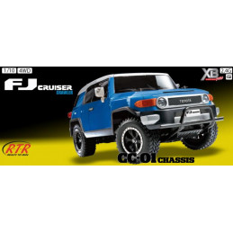 Toyota FJ Cruiser BLUE 1:10