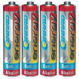 Alkalická baterie Conrad...