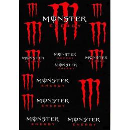 Polepy Monster Energy - red