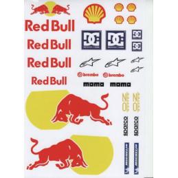 Polepy Red Bull