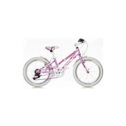 """DINO Bikes - Dětské kolo 20"""" Aurelia Game Kit růžové - 1"""